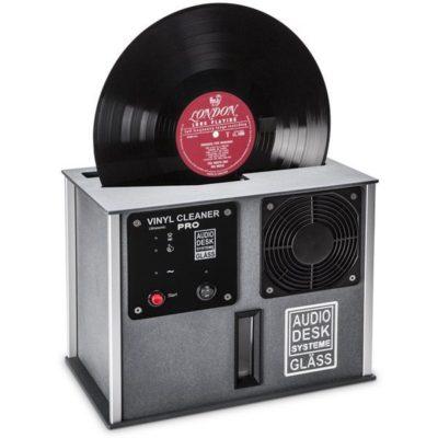 Audiodesk Pro Platevasker Sort/Grå
